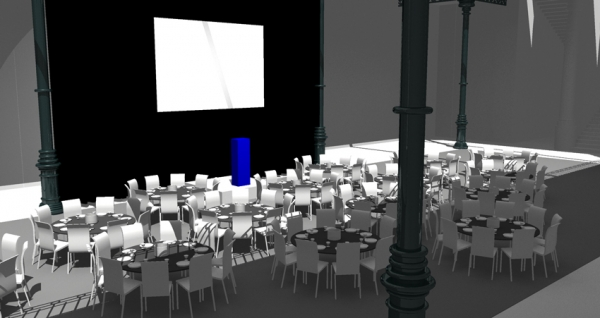 Event preview in 3D CAD